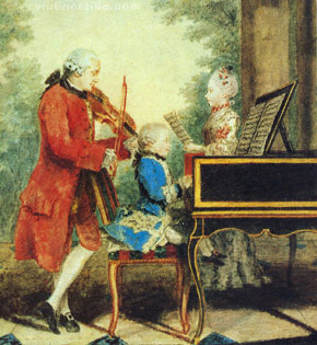 Mozart and family
